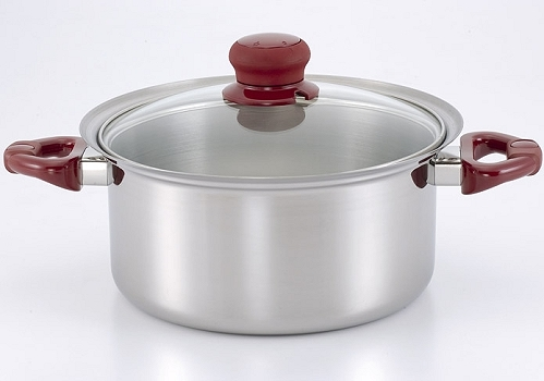 Saucepan (Single Handle with Glass Lid)